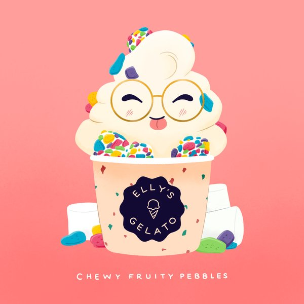 Chewy Fruity Pebbles