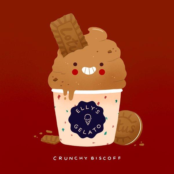 Crunchy Biscoff