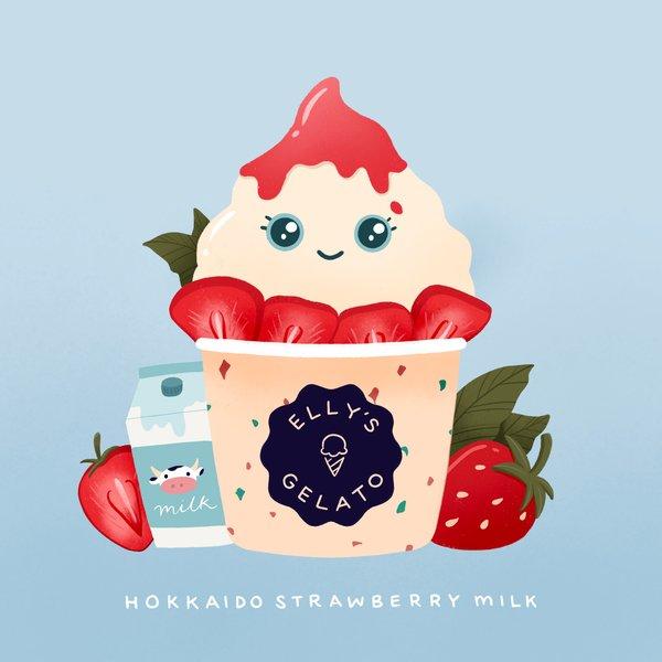Hokkaido Strawberry Milk