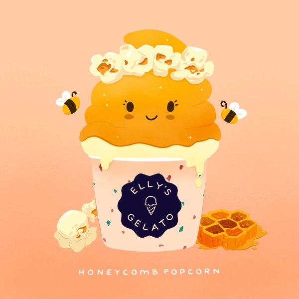 Honeycomb Popcorn